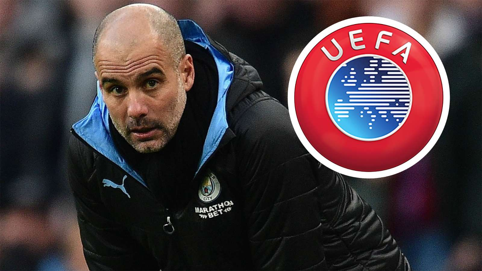 Pep Guardiola Manchester City UEFA 2019-20