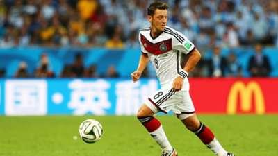 Mesut Özil Germany World Cup 2014