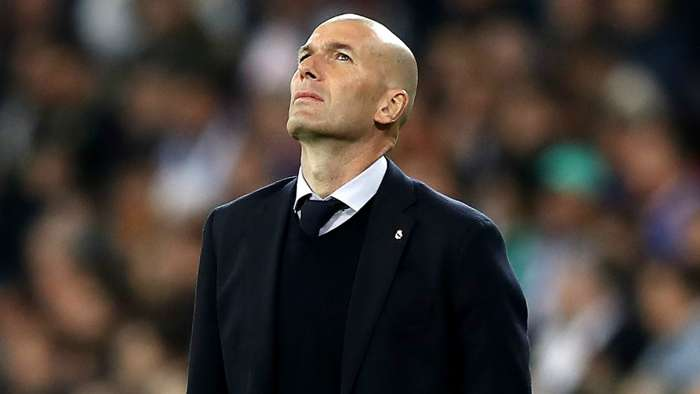 Zinedine Zidane Real Madrid 2019-20