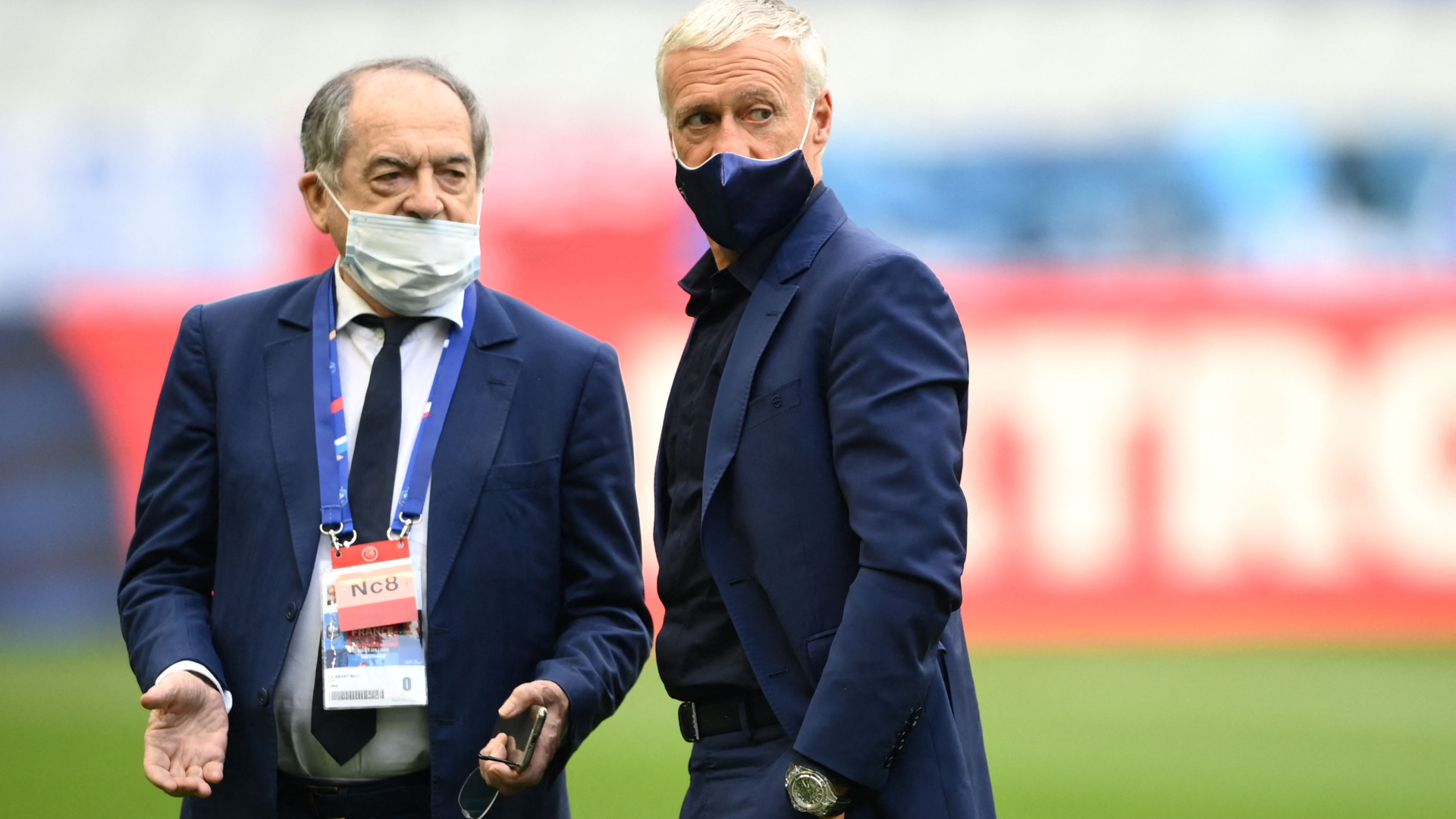 'The question was settled in three minutes' - Deschamps backed to stay as France boss by FFF president Le Graet