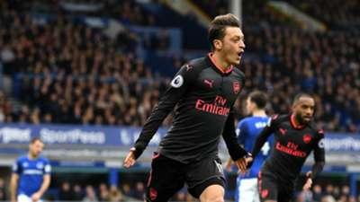 Mesut Ozil Arsenal Everton Premier League