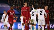 Virgil van Dijk Liverpool PSG