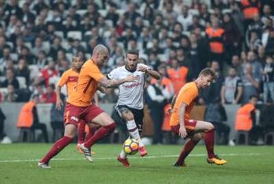Maicon Serdar Aziz Cenk Tosun Besiktas Galatasaray 12/02/17
