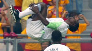 Julius Aghahowa Nigeria Sweden 2002 World Cup