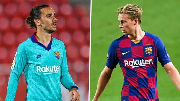 Griezmann/De Jong Barcelona 2019-20