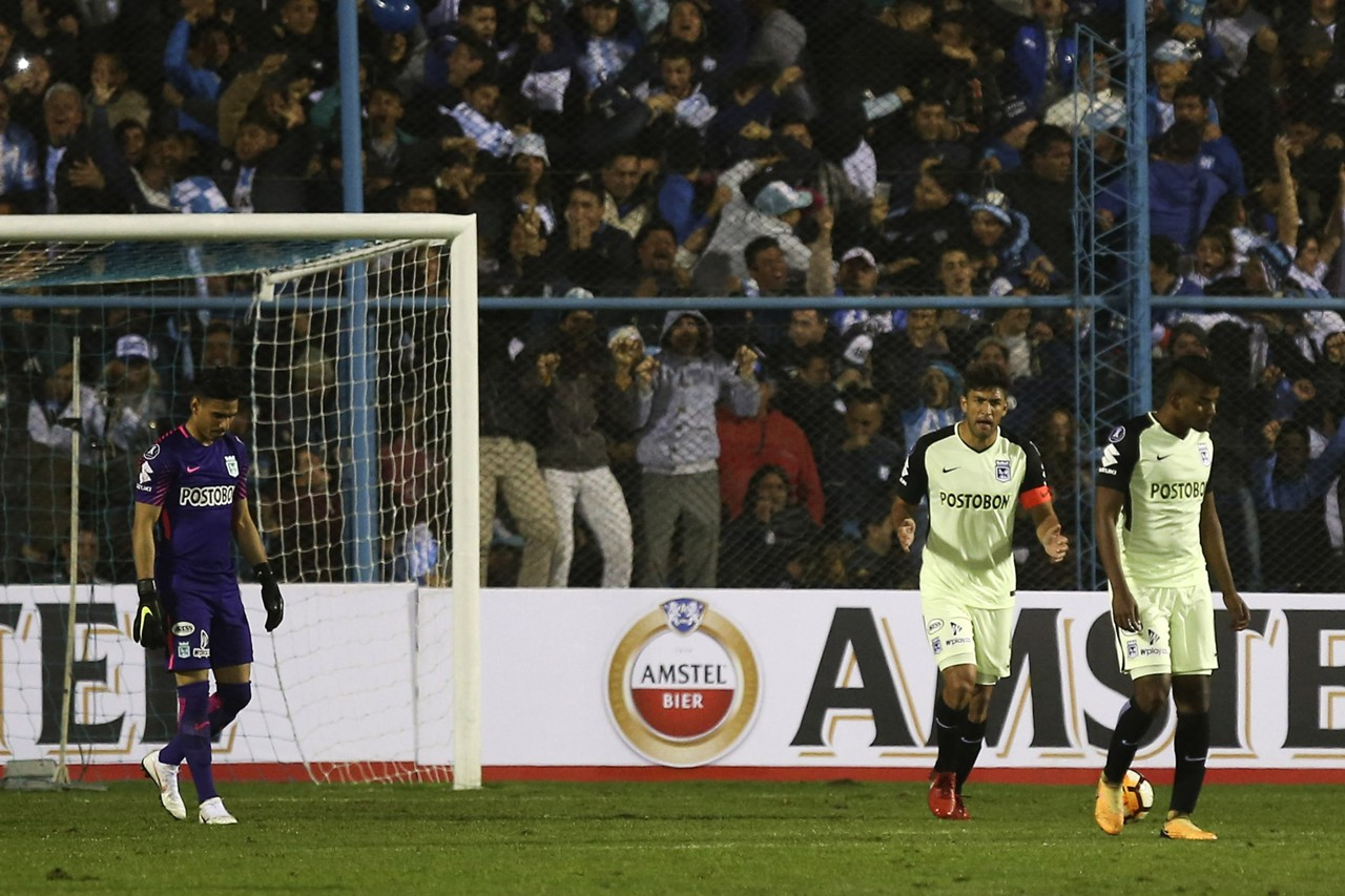 Tucumán - Atlético Nacional Copa Libertadores 09082018
