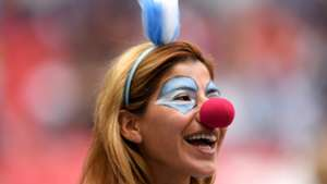美女サポワールドカップ_フランスvsアルゼンチン_アルゼンチン1