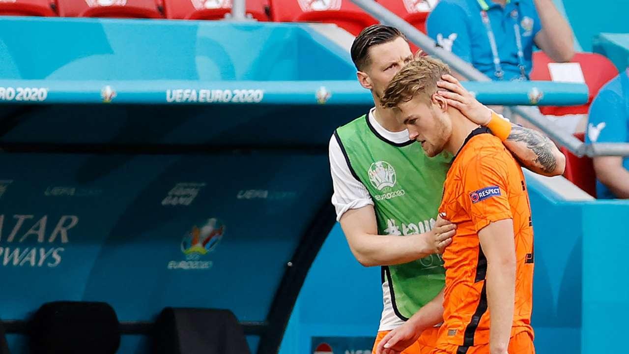 De Ligt Netherlands Czech Euro 2020