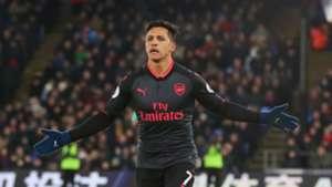Alexis Sanchez Arsenal Crystal Palace