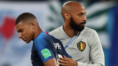 Kylian Mbappe Thierry Henry 10072018
