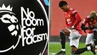 No Room for Racism Marcus Rashford Manchester United Premier League 2020-21