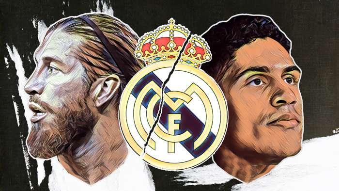 Ramos Varane Real Madrid GFX