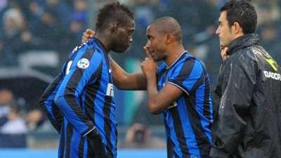 Balotelli Eto'o Inter
