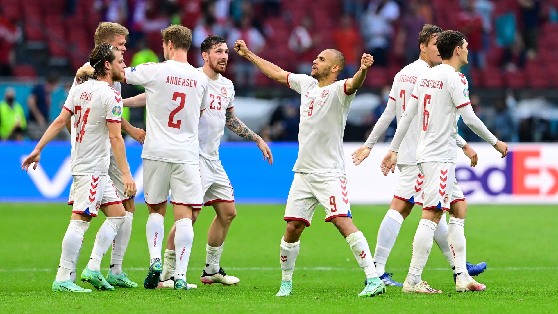 Big Match Stats Pack: England vs Denmark