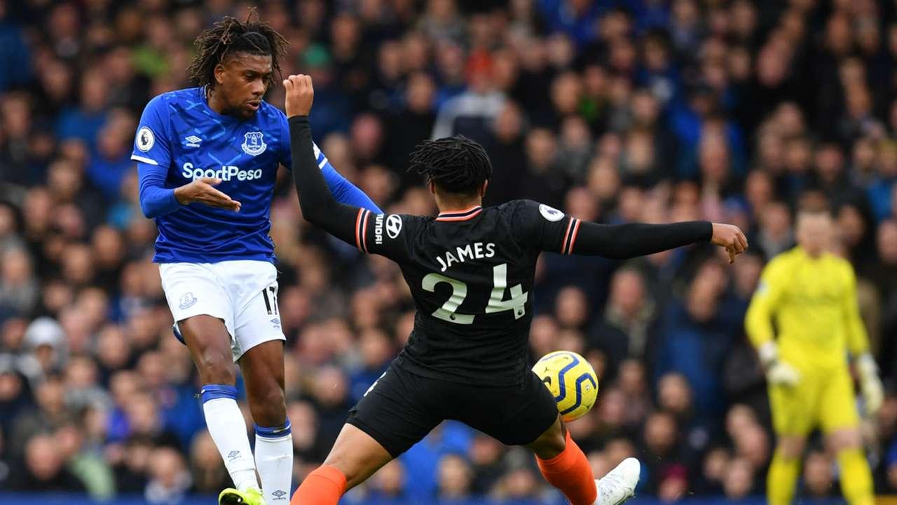 Alex Iwobi Everton Chelsea