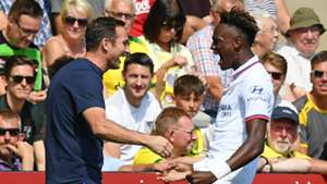 Frank Lampard Tammy Abraham Chelsea 2019-20