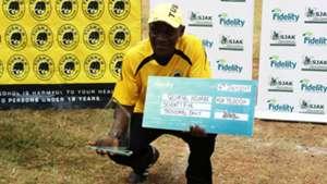 George Nsimbe Tusker coach.