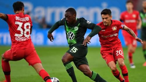 Jerome Roussillon Charles Aránguiz y Bellarabi Bayer Leverkusen Wolfsburgo 260520