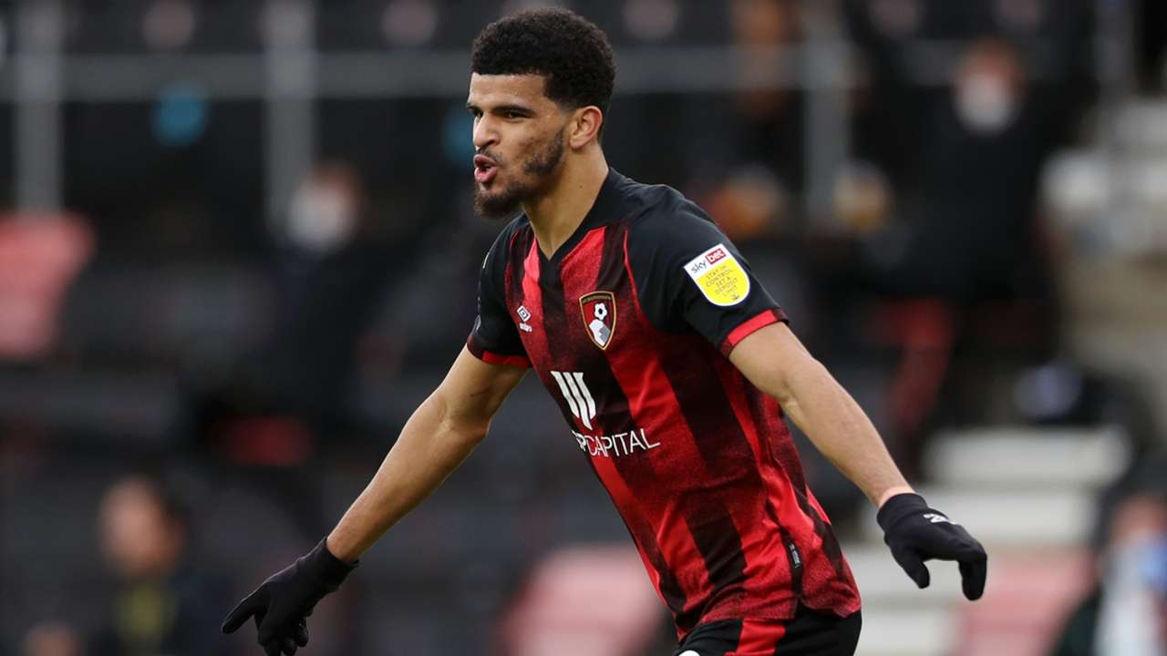 Dominic Solanke of Bournemouth