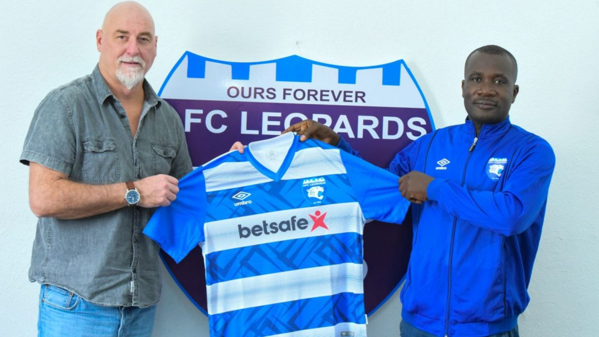 Aussems: AFC Leopards unveil Belgian coach as they target title