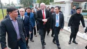 Chủ tịch FIFA thăm VFF