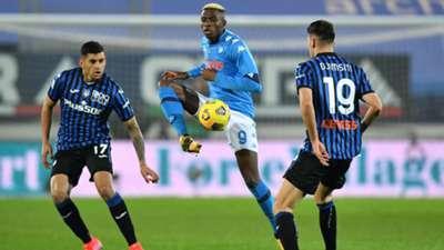 Victor Osimhen Napoli Atalanta Serie A 2020-2021