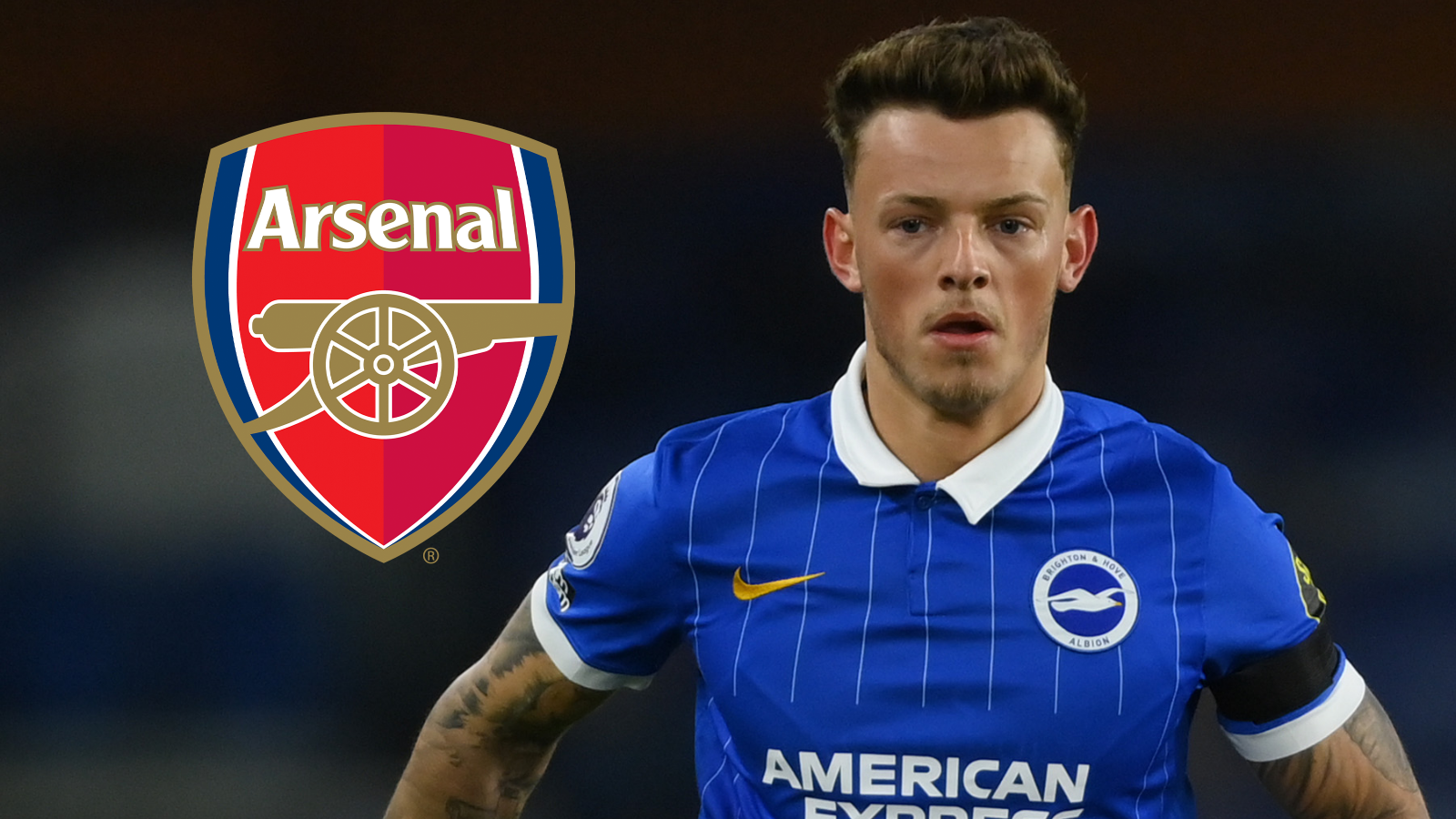 White says Arsenal transfer rumours are 'nice' but Brighton defender  doesn't talk to team-mates about future   Goal.com