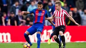 Rafinha Iker Muniain Barcelona Athletic Bilbao La Liga 02042017
