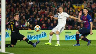 Vazquez Barcelona Real Madrid