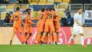 Dinamo Kiev Juventus celebrating Champions League