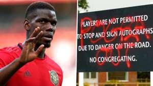 Paul Pogba Sign Carrington