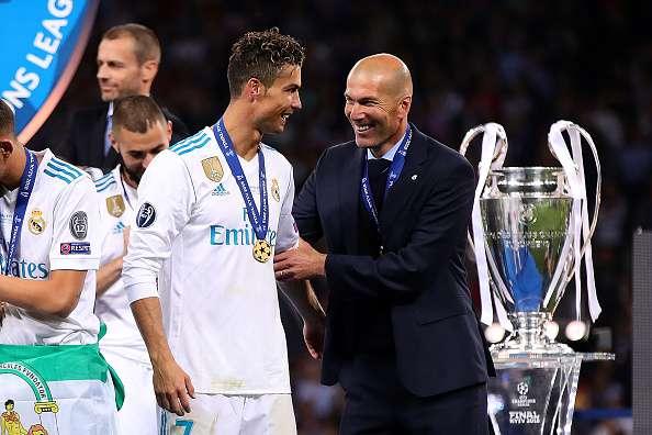 Ronaldo Zidane Real Madrid