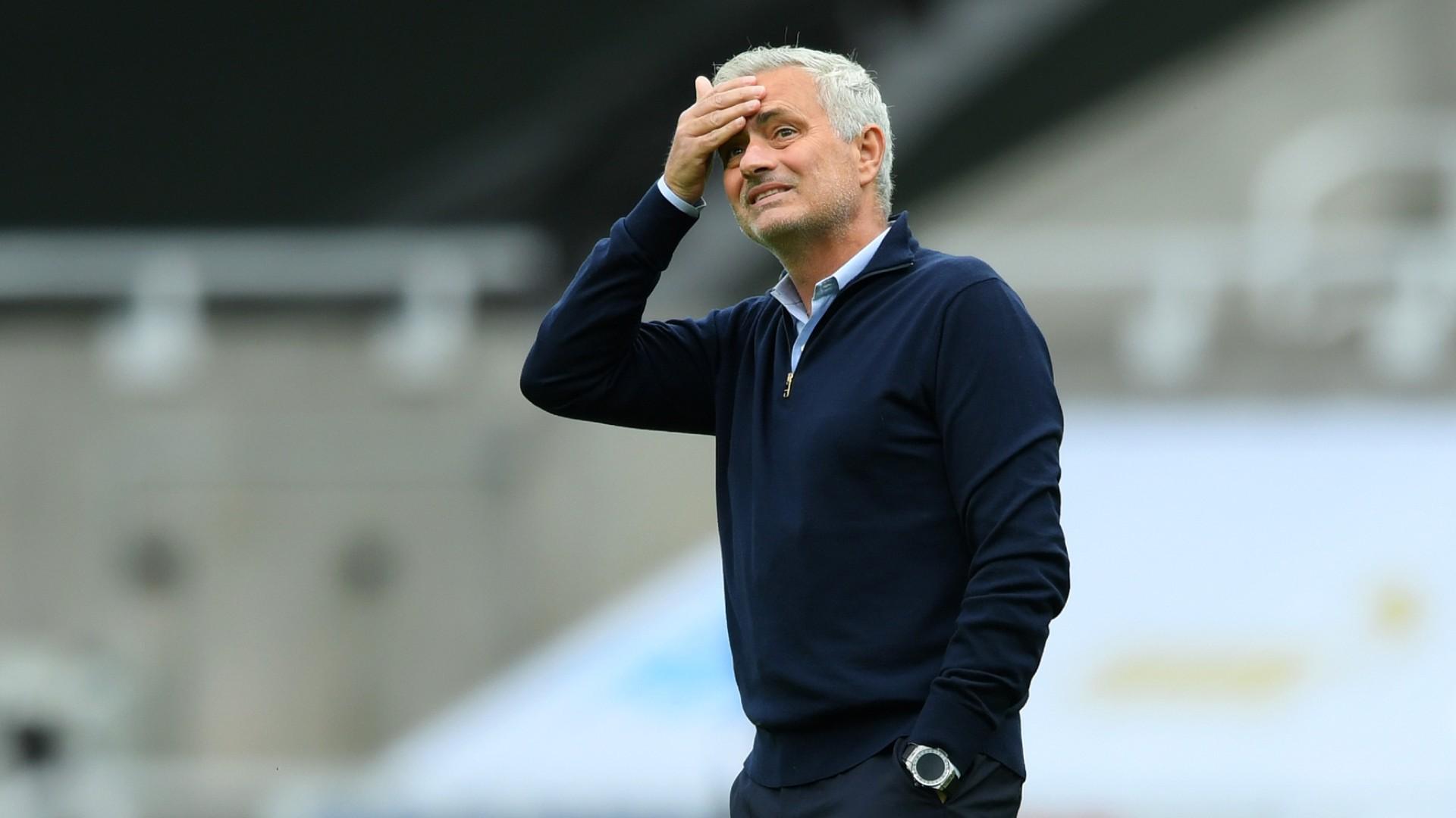 """Tottenham - José Mourinho : """"La saison a été folle"""""""
