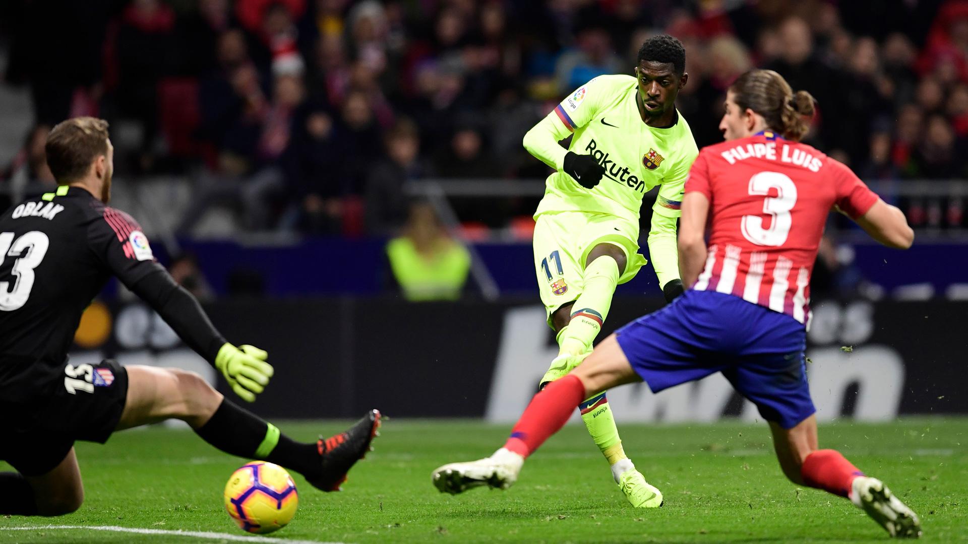 Atl tico De Madrid FC Barcelone Malmen Par L Atl tico Le Bar a Remercie Demb l Goal com