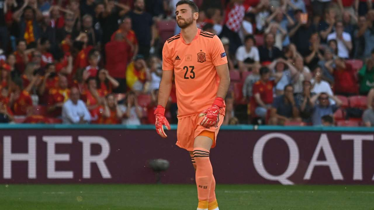 Unai Simon Croatia Spain Euro 2020