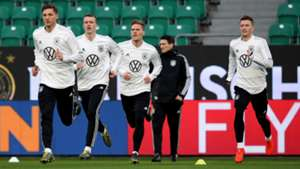 Germany national team training