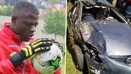Kenya goalkeeper Patrick Matasi and Harambee Stars.