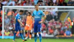 Mesut Ozil Arsenal Liverpool Aug 2017