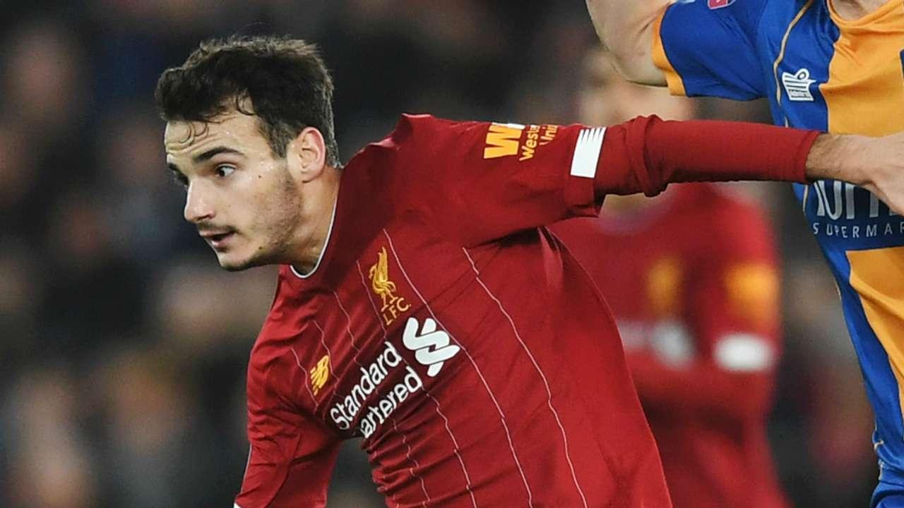 Pedro Chirivella Liverpool 2019-20