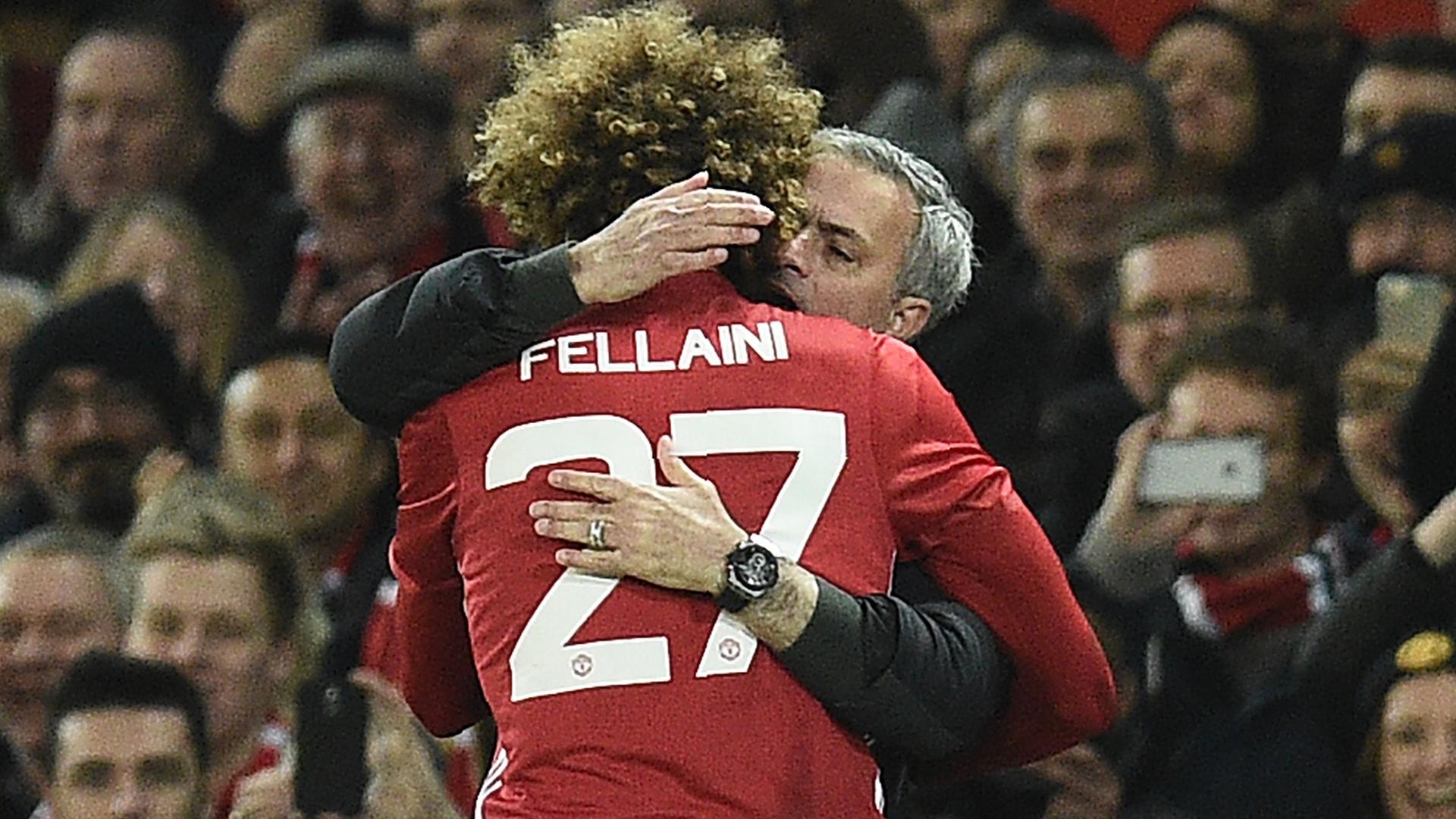 Jose Mourinho Marouane Fellaini Manchester United