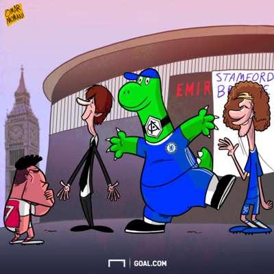 Cartoon - Alexis and Chelsea