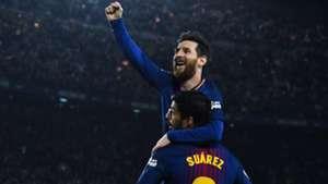 FC barcelona Lionel Messi Luis Suarez 06052018