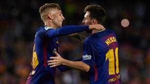 Gerard Deulofeu Lionel Messi