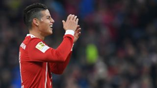 James Rodriguez Bayern Munich Bundesliga