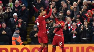 Virgil van Djik Sadio Mane FC Liverpool Manchester City Premier League 10112019