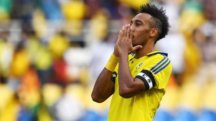 Pierre-Emerick Aubameyang of Gabon