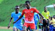 Rising Stars midfielder Joshua Nyatini in action in favor of Kenya.