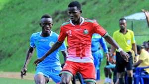 Rising Stars midfielder Joshua Nyatini in action in favor of Kenya.