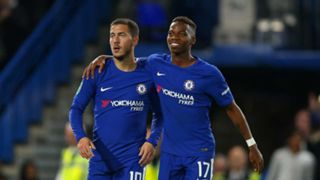 Eden Hazard and Charly Musonda