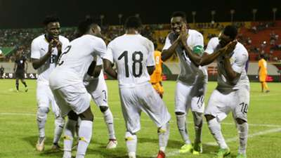Ghana celebrate at Wafu Cup of Nations